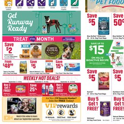 graphic regarding Pet Supermarket Printable Coupon referred to as Area Commercials