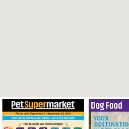 graphic regarding Pet Supermarket Coupons Printable identified as Regional Advertisements