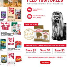picture about Pet Supermarket Coupons Printable titled Area Adverts