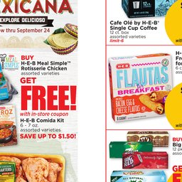 image regarding Rosa Cafe Printable Coupons called See Weekly Advertisement Leopard and Violet HEB within just CORPUS CHRISTI