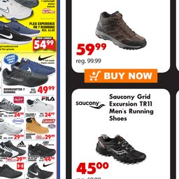 Saucony Grid Excursion TR11 Men's Running Shoes.