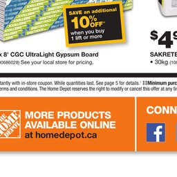 Home Depot - Weekly Flyer | Sympatico