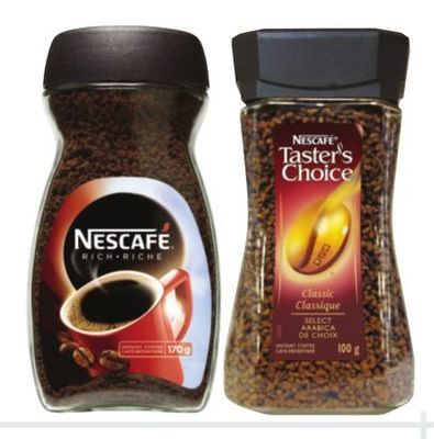 NESCAFE OR TASTER'S CHOICE INSTANT COFFEE