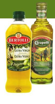 BERTOLLI OR CARAPELLI OLIVE OIL