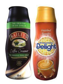 Baileys or International Delight Coffee Cream