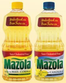 Mazola Corn, Canola or Vegetable Oil