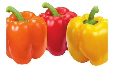 Red, Orange or Yellow Sweet Peppers