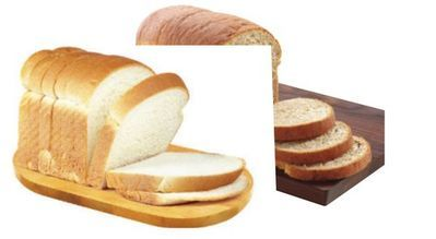 100% WHOLE WHEAT OR WHITE BREAD