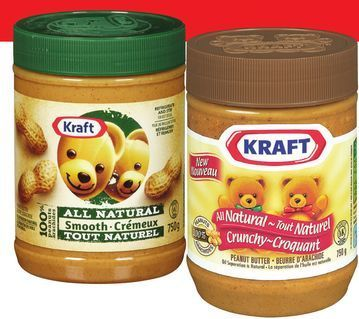 KRAFT NATURAL PEANUT BUTTER