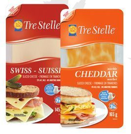 TRE STELLE OR DOFINO SLICED CHEESE