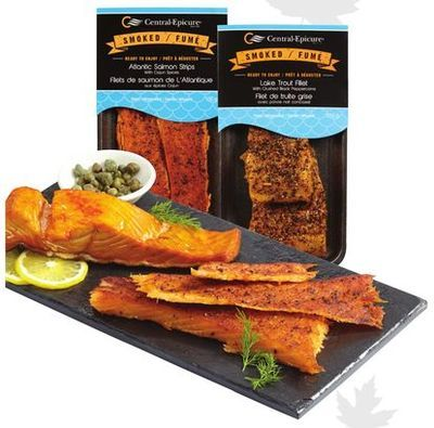 CENTRAL-EPICURE HOT SMOKED FISH FILLETS