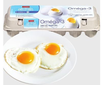IRRESISTIBLES LIFE SMART OMÉGA-3 EGGS
