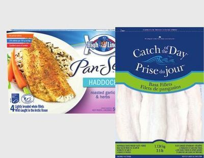 HIGH LINER PAN-SEAR SELECTS OR CATCH OF THE DAY FISH FILLETS