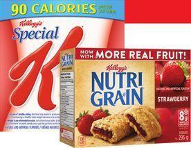 KELLOGG'S NUTRI-GRAIN BARS, RICE KRISPIES SQUARES OR POP-TARTS