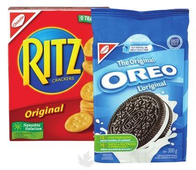 CHRISTIE, DAD'S OR PEEK FREANS COOKIES CHRISTIE, RITZ OR WHEAT THINS CRACKERS
