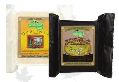 KERRYGOLD DUBLINER, RESERVE OR BLARNEY CASTLE CHEDDAR CHEESE