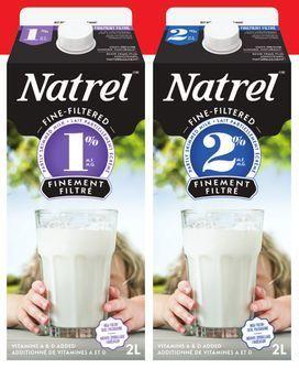 NATREL FINE-FILTERED MILK