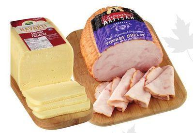 Irresistibles Artisan Seasoned Turkey Breast or Dofino Havarti Cheese