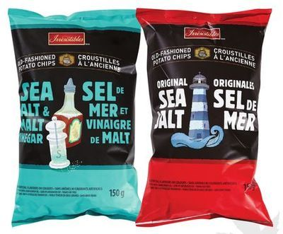 IRRESISTIBLES KETTLE CHIPS OR SELECTION POTATO CHIPS