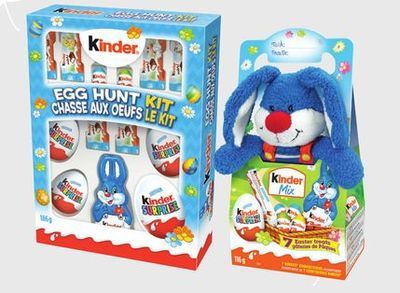 KINDER SURPRISE EASTER PLUSH MIX