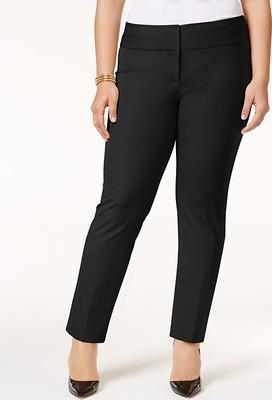 6bd56c8f Alfani Plus & Petite Plus Size Slim Pants, Created for Macy's - Flipp