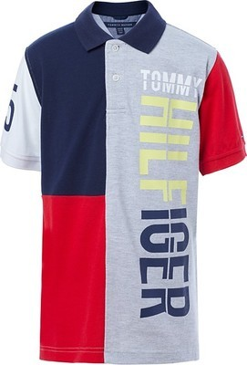 e39a1d49eeb Tommy Hilfiger Big Boys Logo Pieced Polo - Flipp
