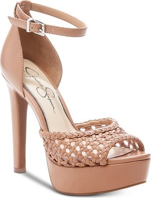 7d10ed5047 Jessica Simpson Beeya Two-Piece Platform Sandals, Created for Macy's ...