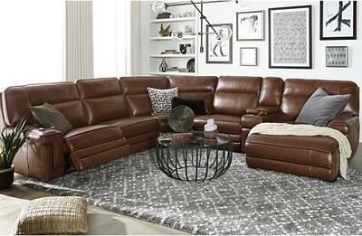 Miraculous Get Myars Leather Power Reclining Sectional Collection Creativecarmelina Interior Chair Design Creativecarmelinacom
