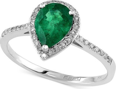 3f87d515c9ae0 Get EFFY Collection Brasilica by EFFY Emerald (9/10 ct. t.w.) and ...