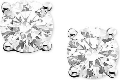 8e04dff2e9a Get Macy's Diamond Stud Earrings (3/4 ct. t.w.) in 14k White Gold or ...