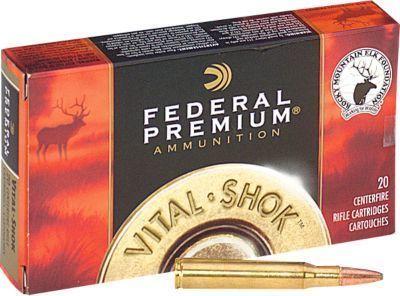 Get Federal Premium® Nosler® Ballistic Tip® Centerfire Rifle Ammo
