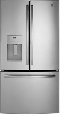 Ge 25.5 Cu. Ft. Stainless Steel French Door Refrigerator