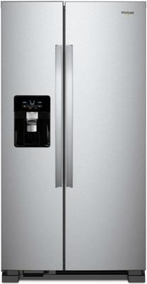Whirlpool 24.6 Cu. Ft. Stainless Steel Side-by-side Refrigerator