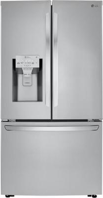 Lg 23.5 Cu. Ft. Stainless Steel Counter-depth French Door Refrigerator