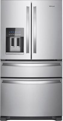 Whirlpool® 25 Cu. Ft. Stainless Steel French 4-door Refrigerator
