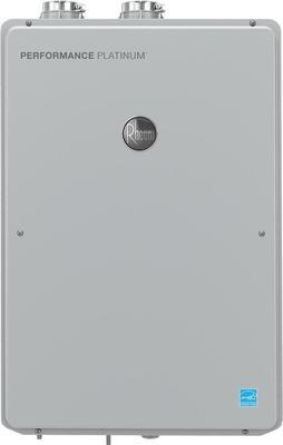 Rheem Performance Platinum 9.5 Gpm Natural Gas High Efficiency Indoor Tankless Water Heater