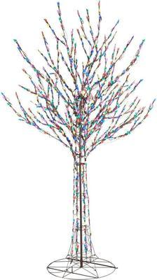 Home Accents Holiday 96 In. Led Pre-lit Bare Branch Tree With Multi-color Lights