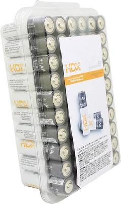 Hdx Hdx Alkaline Battery Aa(60-pack)