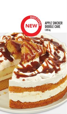 APPLE SNICKER DOODLE CAKE