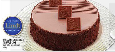 SWISS MILK CHOCOLATE TRUFFLE CAKE