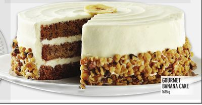 GOURMET BANANA CAKE