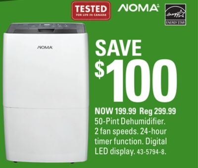 Canadian tire weekly ad for undefined this week may 17 2018 may noma 50 pint dehumidifier greentooth Gallery