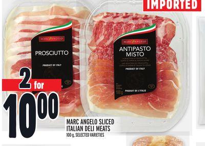 MARC ANGELO SLICED ITALIAN DELI MEATS