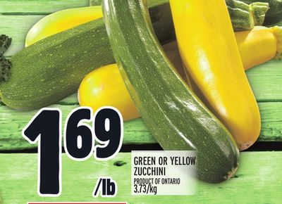GREAT ON GREEN OR YELLOW ZUCCHINI
