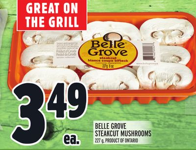 BELLE GROVE STEAKCUT MUSHROOMS