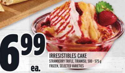 IRRESISTIBLES CAKE