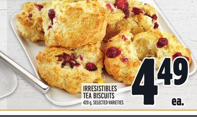 IRRESISTIBLES TEA BISCUITS