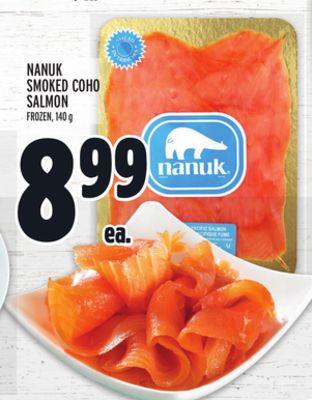 NANUK SMOKED COHO SALMON