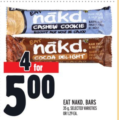 EAT NAKD. BARS
