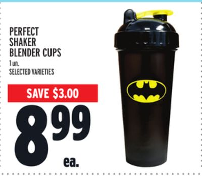 PERFECT SHAKER BLENDER CUPS